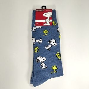 NWT Snoopy Crew Socks